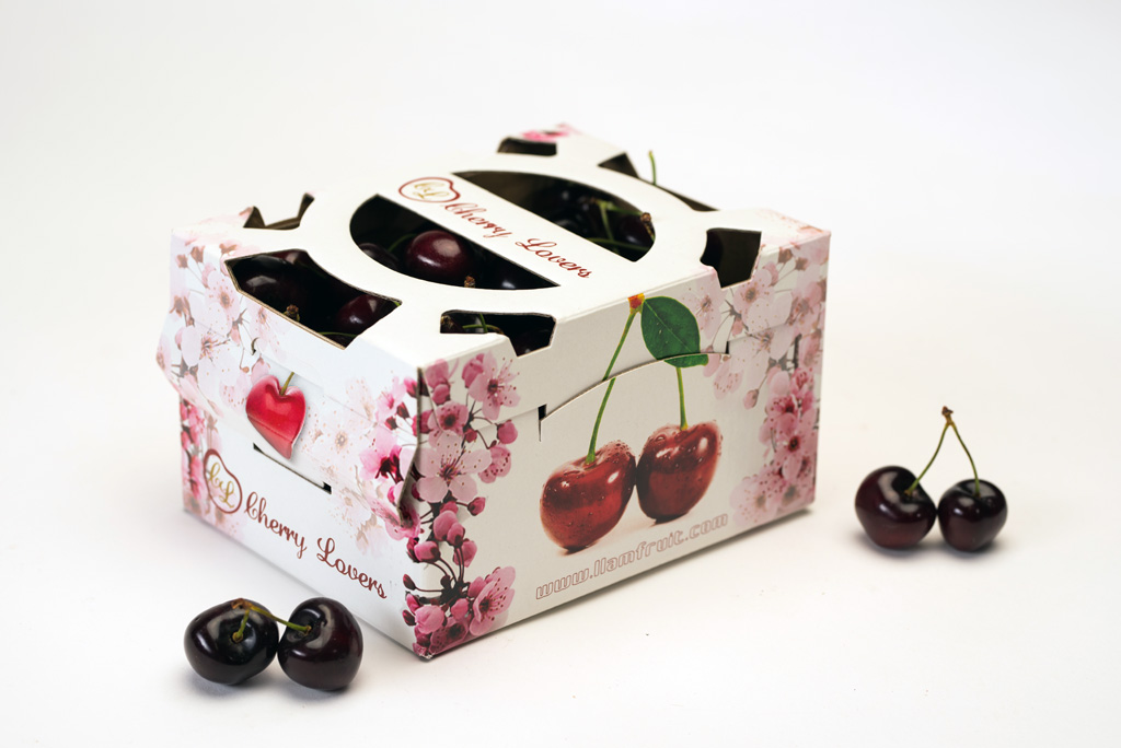BoxJové Special Packaging -Cesta 1kg cerezas