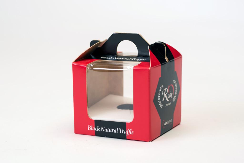 BoxJové Special Packaging -Cesta para una trufa negra